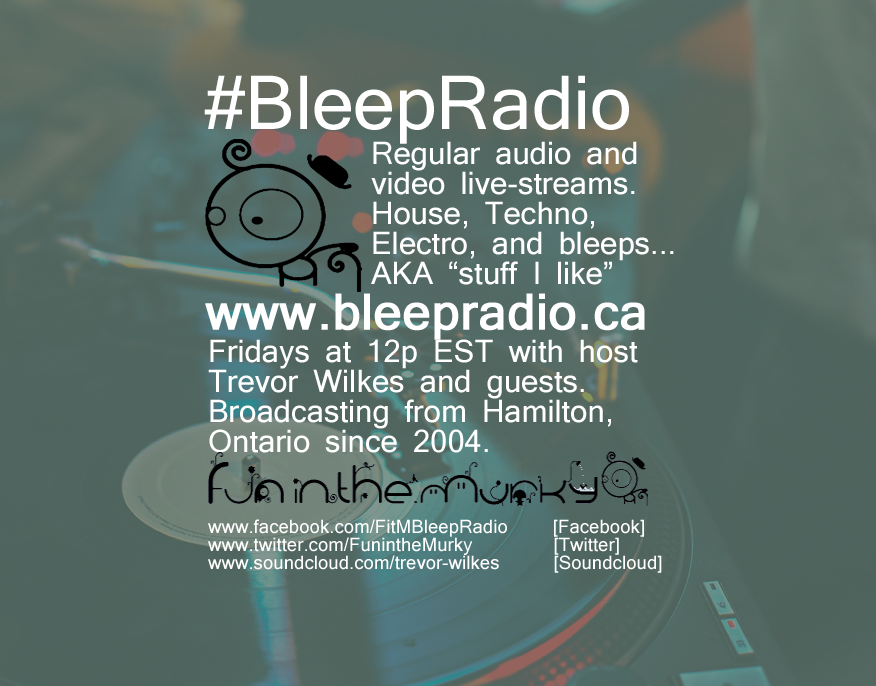 Bleep Radio #312 by Trevor Wilkes