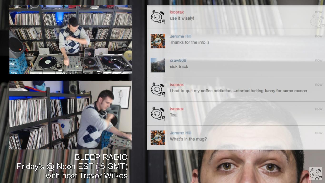 Bleep Radio #322 by Trevor Wilkes