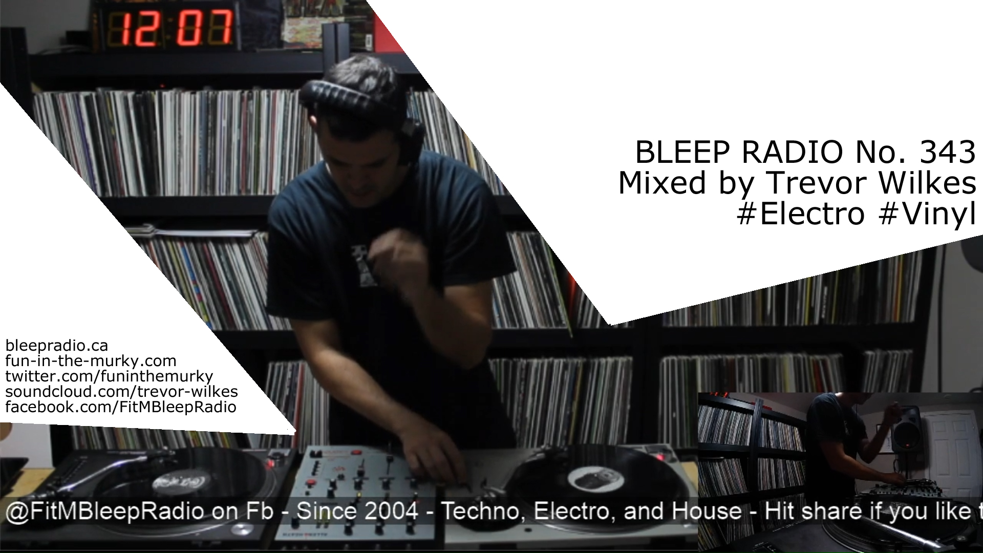 Bleep Radio #343 by Trevor Wilkes