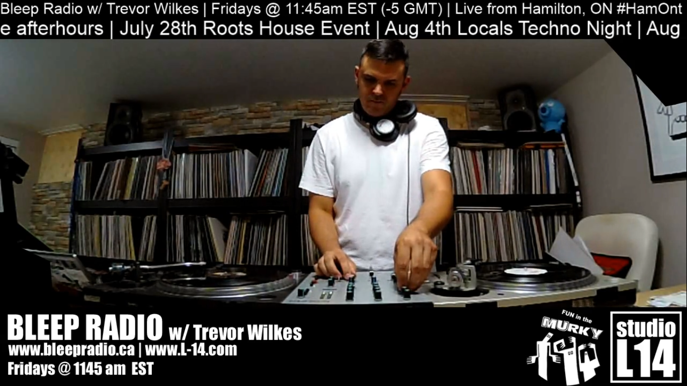 July 20th, 2018 Live-stream w/ Trevor Wilkes