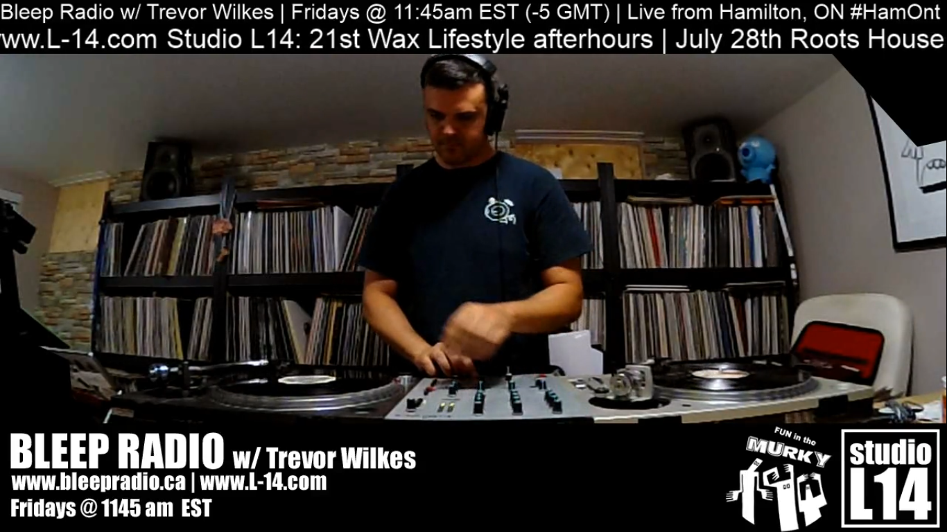 July 22nd, 2018 Live-stream w/ Trevor Wilkes