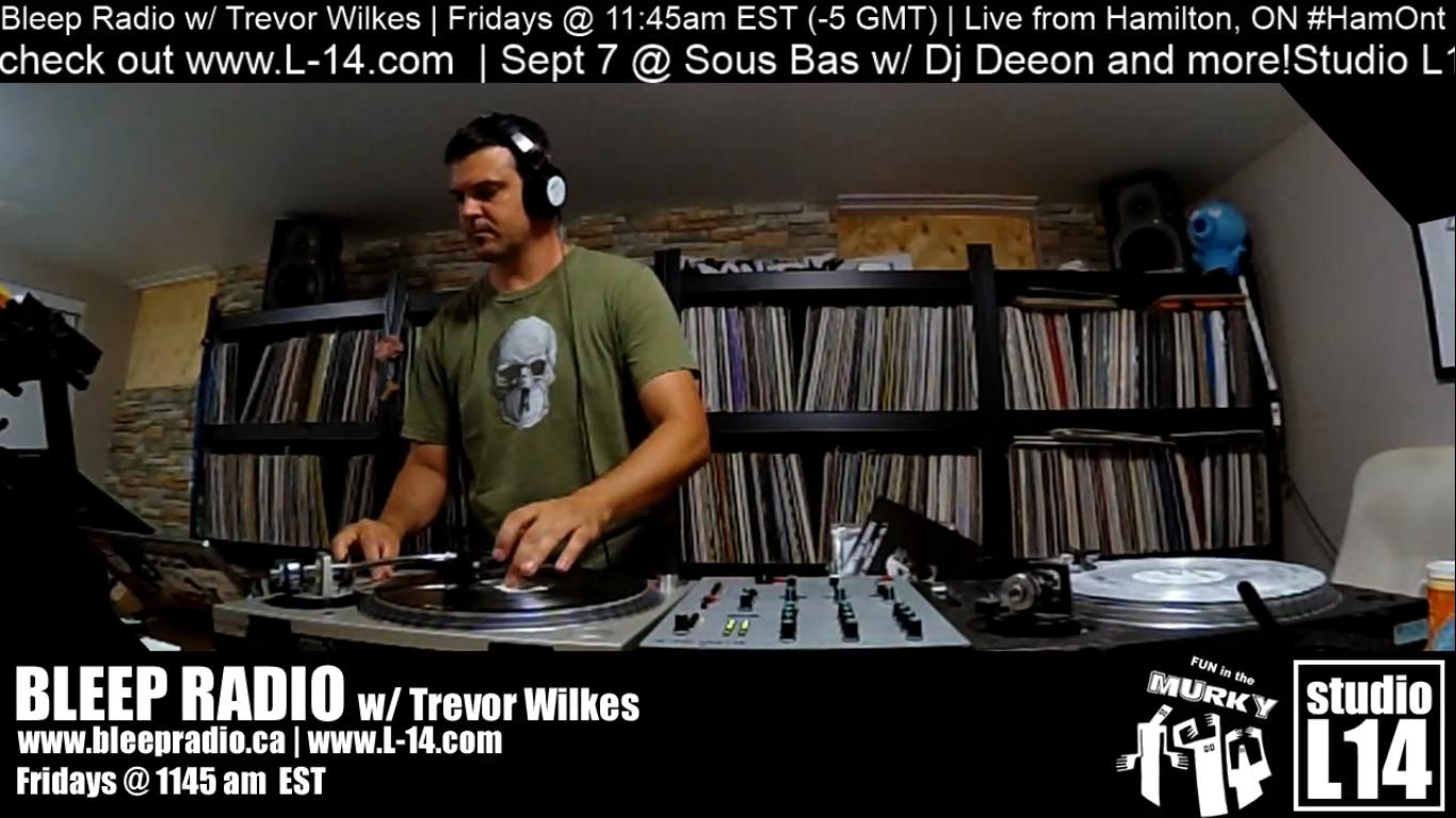 August 2nd, 2018 Live-stream w/ Trevor Wilkes