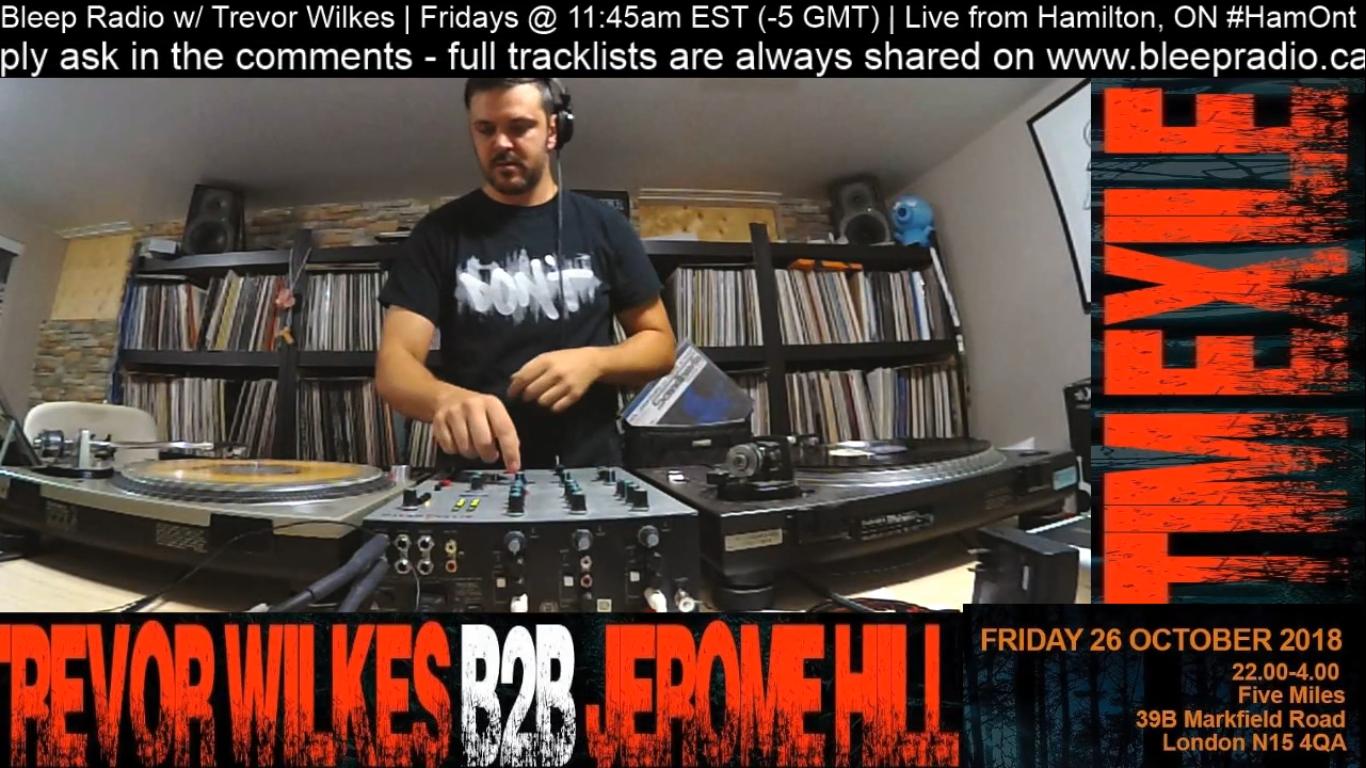 Oct 20th, 2018 Live-stream w/ Trevor Wilkes