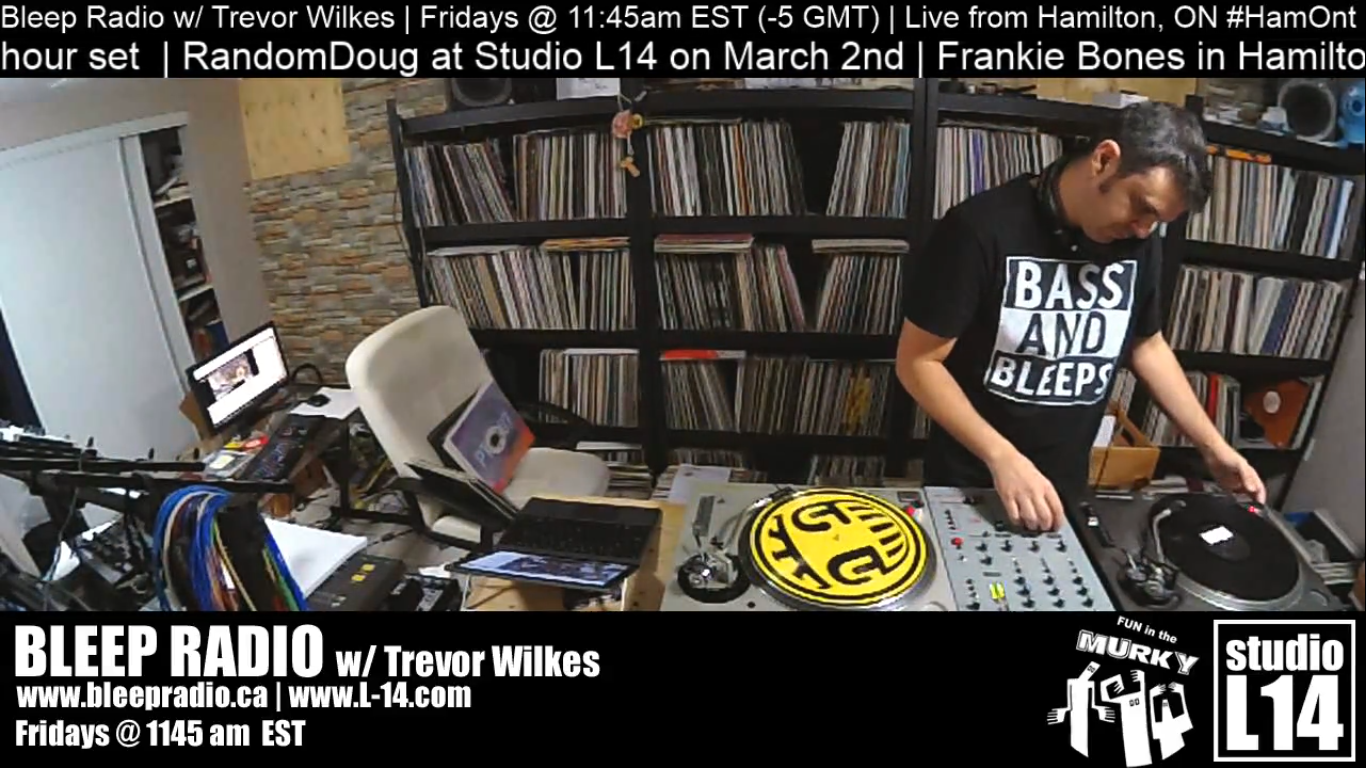 Bleep Radio #386 w/ Trevor Wilkes – Feb. 15th, 2019