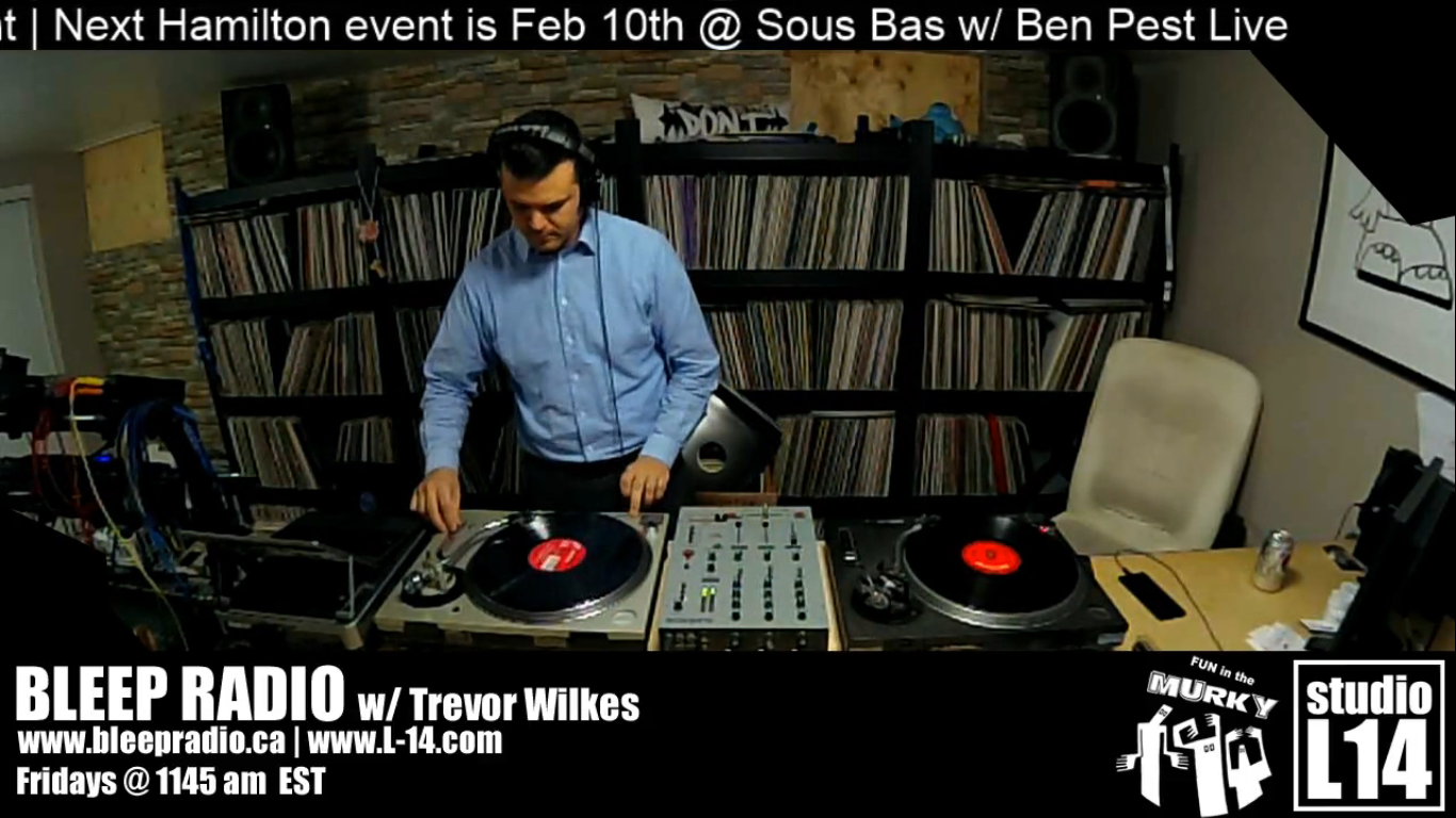 Jan. 12, 2018 Live-stream w/ Trevor Wilkes