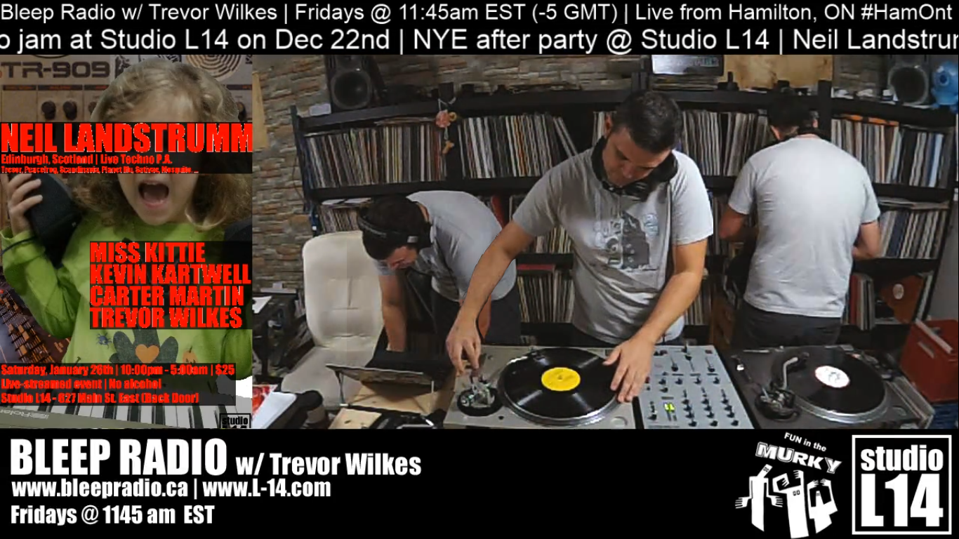 Dec 14th, 2018 Live-stream w/ Trevor Wilkes