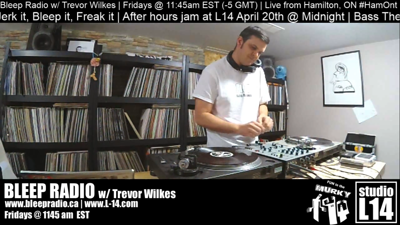 Bleep Radio #396 w/ Trevor Wilkes