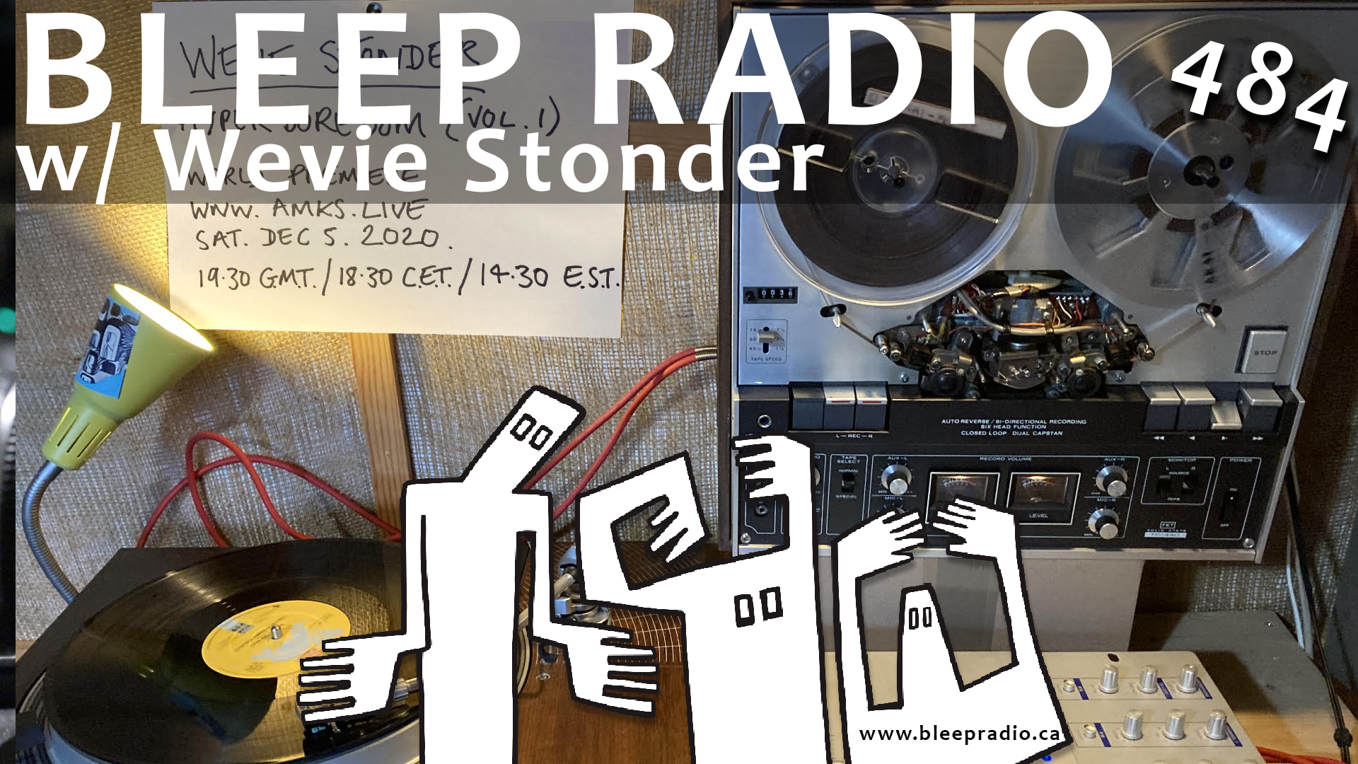Bleep Radio #484 w/ Wevie Stonder